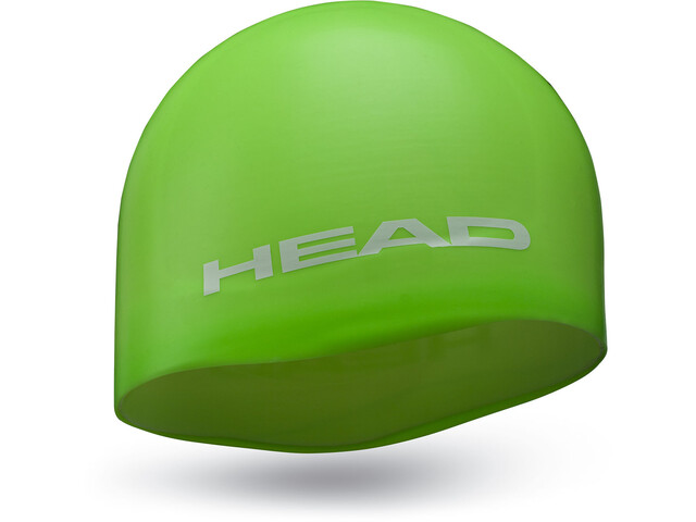 Head Silicone Moulded Badehætte, green